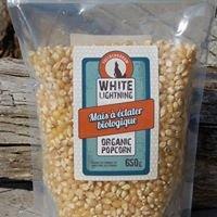 White Lightning Organic Popcorn