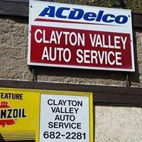 Clayton Valley Auto Service Inc.
