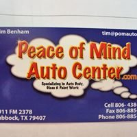 Peace of Mind Auto Center