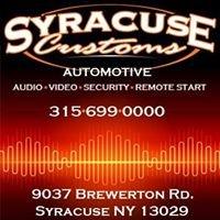 Syracuse Customs