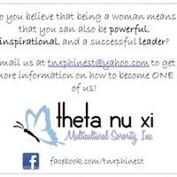 Theta Nu Xi Multicultural Sorority Inc. | Phi Chapter
