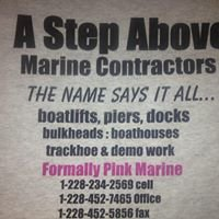 A Step Above Marine Contractors