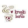 W Kropki Bordo