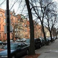 Beacon Street, Brookline, Boston, Massachusetts, America