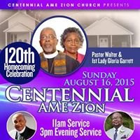 Centennial AME  Zion Church