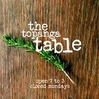 The Topanga Table
