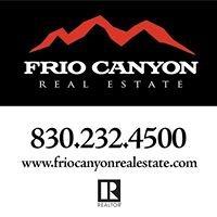 Frio Canyon Real Estate, LLC