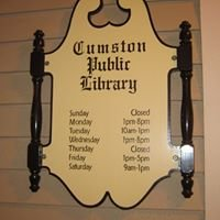 Friends of Cumston Library