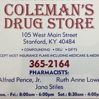 Coleman's Drug Store