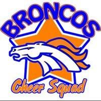 Modesto Broncos Cheerleaders