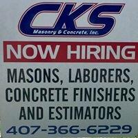 CKS Masonry and Concrete, Inc.