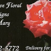 Distinctive Florals by Mary