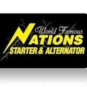 Nations Starter & Alternator