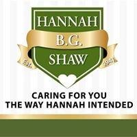 Hannah B.G. Shaw Home