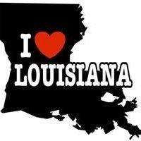 Louisiana Lady Fan