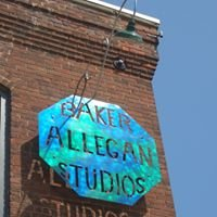 Baker Allegan Studios, Textile Arts, Weaving, Spinning and Yarn Shop.