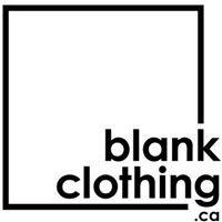 blank clothing