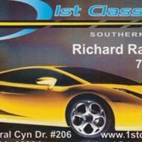 1st Class Detail and Window Tinting