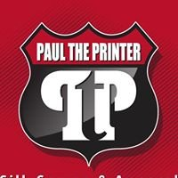 Paul The Printer Silk Screen & apparel