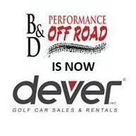 B & D and Dever Golf Carts