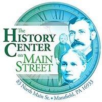 History Center on Main Street, Mansfield PA