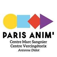 Pôle jeunesse Paris anim' Sangnier, Vercingétorix & Didot