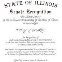 Historical Society of Brooklyn Illinois