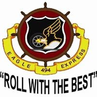 """494th Transportation Company """"Eagle Express Roll with the Best"""""""