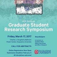 Duquesne Graduate Student Research Symposium