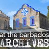 At the Barbados Archives