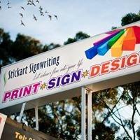 STICKART SIGNWRITING Print Sign Design