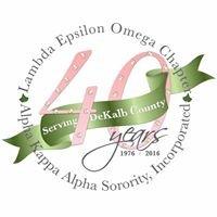 Lambda Epsilon Omega Chapter of Alpha Kappa Alpha Sorority, Inc.