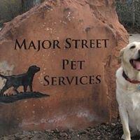 Major Street Pet Services