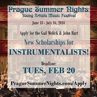 Prague Summer Nights: Young Artists Music Festival