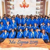 The Mu Sigma Chapter of Sigma Gamma Rho Sorority, Inc.