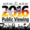 Public Viewing im Alten Eisstadion