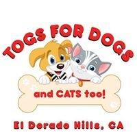 Togs For Dogs and Cats too - El Dorado Hills, CA