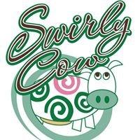 Swirly Cow Frozen Yogurt