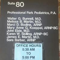 Professional Park Pediatrics
