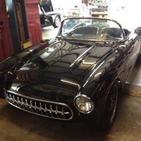 Corvette Correction - the shop