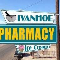 Ivanhoe Pharmacy & Ice Cream is now Closed