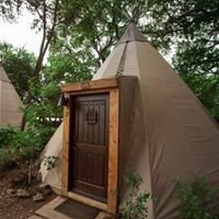 Tipis on the Guadalupe