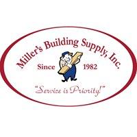 Miller's Building Supply, Inc