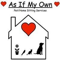 As If My Own, Pet & Home Sitting Services