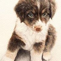 Cathy Flynn Watercolor Pet Portraits