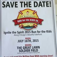 Chicago Firefighters Run for the Kids 5K