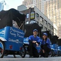 Mr. Rickshaw the NYC Pedicab Leader