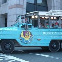 Boston Duck Tour At the Prudential Center