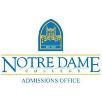 Notre Dame College Admissions