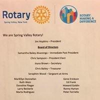 Rotary Club of Spring Valley NY